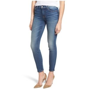 7fam ankle super skinny light wash stretch jeans